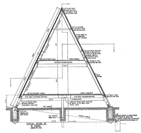 a frame plans free woodwork a frame cabins plans pdf plans