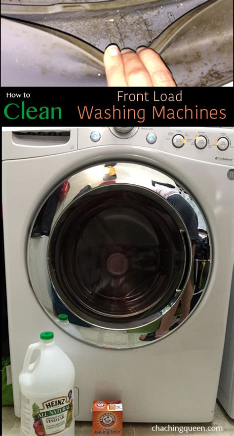 clean mold from front load washer how to clean washing machines with baking soda vinegar front load and top loading