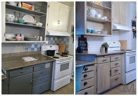 Kitchen Facelift Before And After Diy Backsplash Jlm Designs