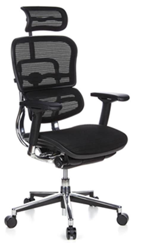 chaise bureau ergonomique ergohuman la chaise de bureau ergonomique chaise de bureau en en r 233 sille ou maille