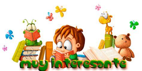imagenes de niños leyendo y escribiendo gif ni 241 os leyendo imagui