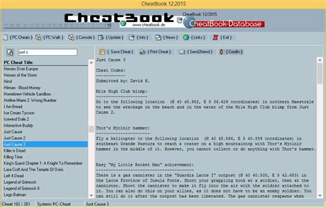 cheatbook 01 2008 issue january 2008 a cheat code tracker with cheatbook issue 12 2015 12 2015