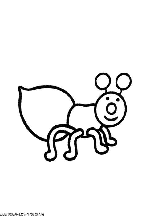 imagenes para colorear hormiga dibujos de hormigas 08