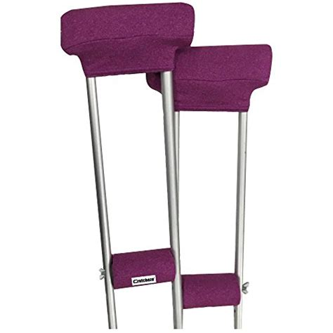 Crutches Comfortable Padding by Crutcheze Pink Crutch Pads Covers With Comfortable