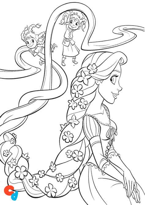 dibujos para colorear colorear y aprender dibujo de rapunzel imprimir y colorear 187 colorear dibujos