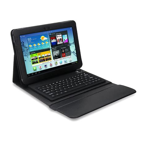 Samsung Galaxy Tab 2 Keyboard mgear accessories 97087624m bluetooth keyboard folio for