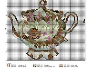wendy s free cross stitch patterns teapots cross stitch
