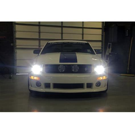 mustang hid lights diode dynamics mustang hid headlight led fog light