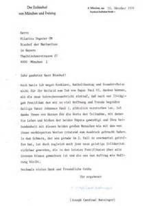 Muster Schreiben An Gericht Streit In Der Freikatholischen Kirche Der Unabh 228 Ngig Katholischen Kirche Und Weiteren Bischof