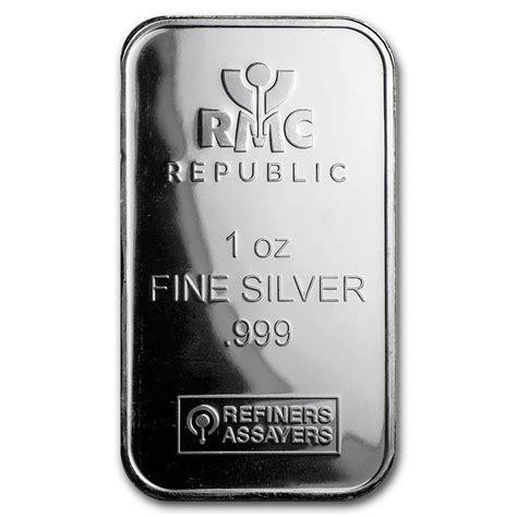 1 oz silver bar 1 oz silver bar republic metals corp republic metals