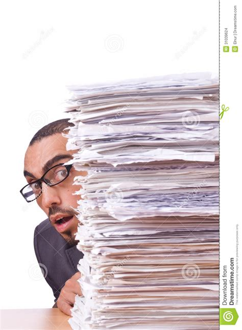Busy Busy Doing Lots Of Writing Lots Of Shoppin by Busy Businessman Stock Images Image 31039624
