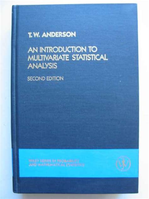 essentials of multivariate data analysis books multivariate statistical methods written by morrison
