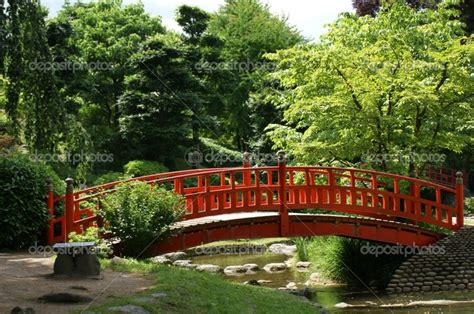japanese garden bridges red bridge japanese gardens pinterest