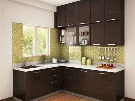 modular kitchens designs munnar l shaped modular kitchen designs india homelane
