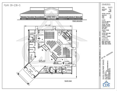 Church Floor Plans Free Informational Church Building Resource Church Building Experts And Expansion Consultants Free