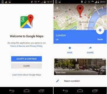 google updated with material design for android lollipop google s android 5 0 apps with new lollipop material