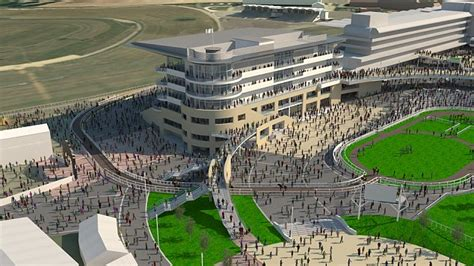 Set Sport Flow Dc 3in1 cheltenham racecourse set for 163 45million makeover to grandstand and royal box daily mail