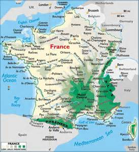 Map Of France by France Map