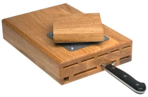 under the cabinet swiveling knife block craziest gadgets