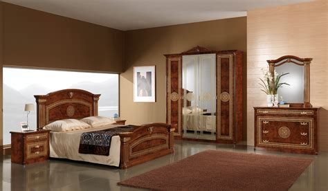 walnut bedroom set esf alexandra walnut bedroom set