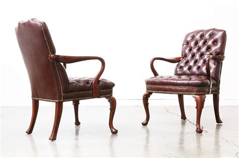 chesterfield style armchair vintage leather chesterfield style arm chairs vintage