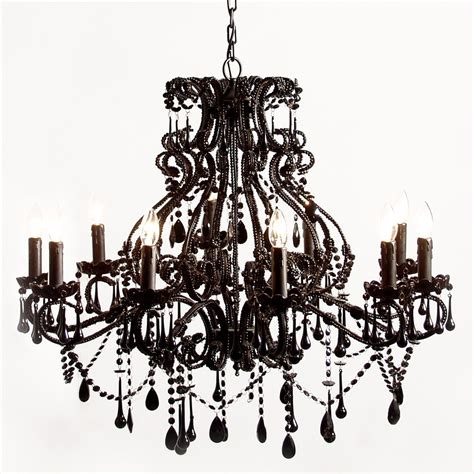 Chandelier Black sassy boo black chandelier bedroom company