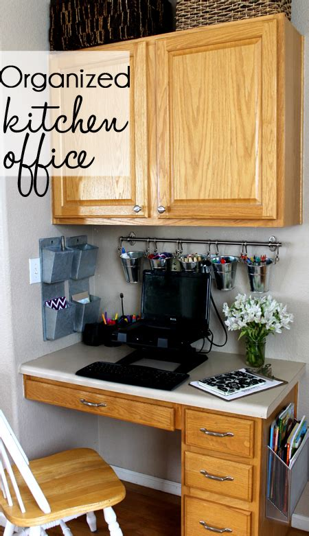 kitchen office organization ideas finally organized kitchen office
