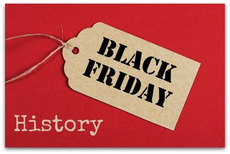 a short history of black friday