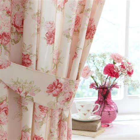 Pink Floral Curtains Dunelm Mill Floral Bedding Range Review Cosy Home