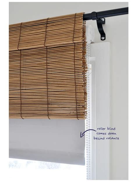 bamboo valance curtains bamboo blinds valances and bamboo on pinterest