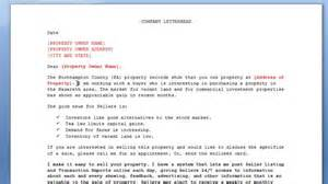 real estate marketing letter template for farming and