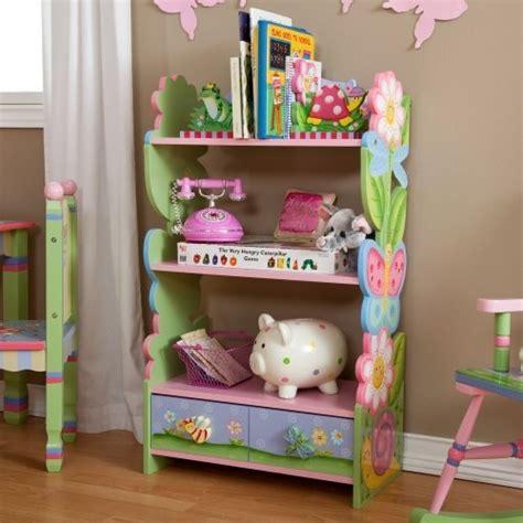 Teamson Magic Garden Bookcase Fantasy Fields Magic Garden Bookshelf Bookshelves