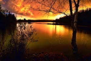 Kostenloses Foto Sonnenuntergang Landschaft
