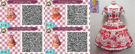 deviantart more like animal crossing new leaf qr anna from animal crossing new leaf qr strawberry whip by