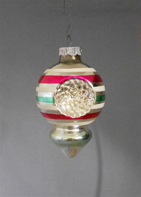 1950s christmas ornaments 1950s shiny brite indent lobed lantern ornament in x sold gallery