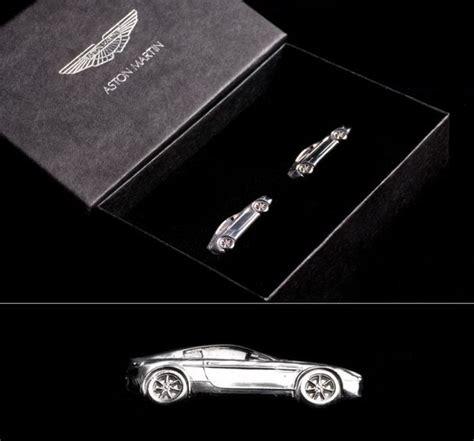 Aston Martin Cufflinks silver v8 vantage cufflinks
