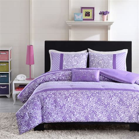purple flower comforter set purple comforter sets purple bedroom ideas