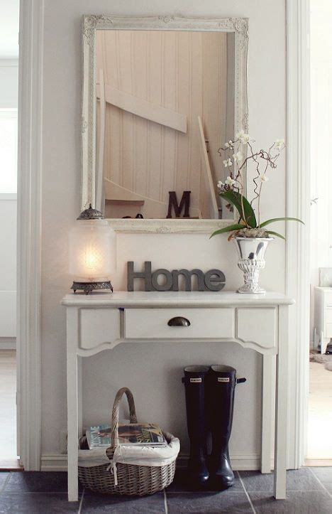 entryway inspiration inspiration table like this for bins w scarves with