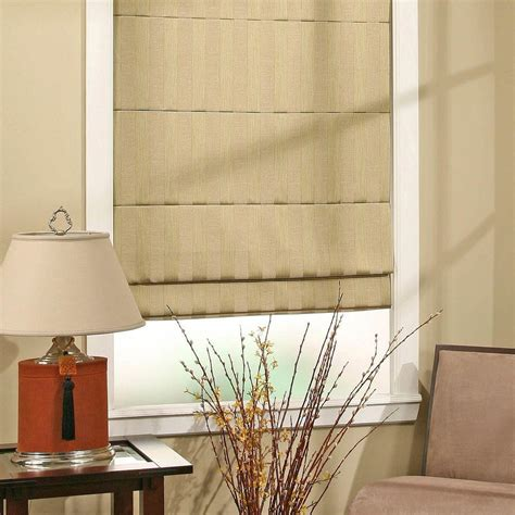 Cloth Blinds Create A Peaceful Ambient With Shades Interior