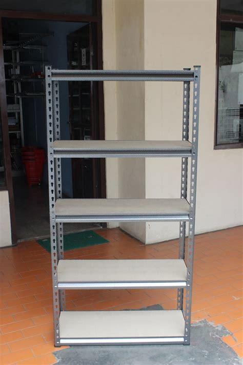 Rak Besi Depok rak gudang shelf kayu 3 tipe rajarakbarang rak besi