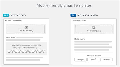 Ask For Feedback Vs Ask For A Review Reviewtrackers Support Review Request Email Template