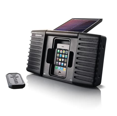 Isoundspa Speaker System For Ipods Is Also A Soothing Sound Station by Collection Fair Trade Organic Eco Friendly