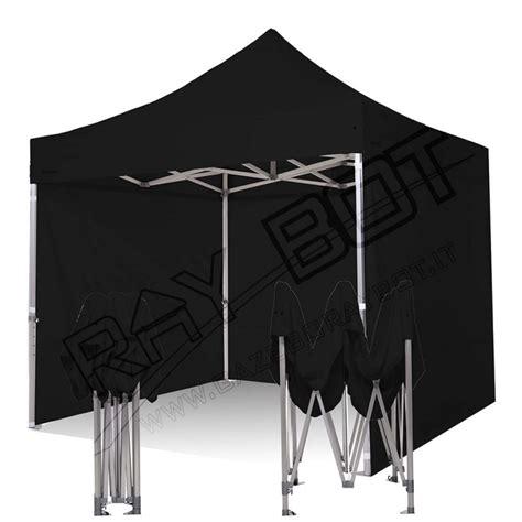 gazebo 4x4 offerta gazebo rapido 4x4 alluminio nero exa 55mm laterali 500gr