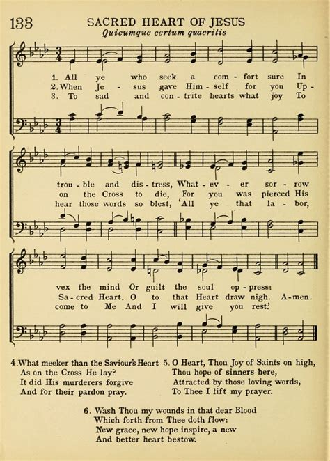 the comforter has come hymn a treasury of catholic song comprising some two hundred