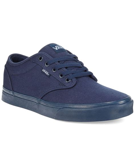 vans sneakers mens vans s atwood mono sneakers in blue for navy navy