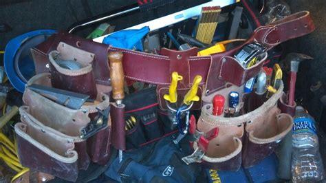 tool belt setup best tool belt page 6 tools equipment contractor talk