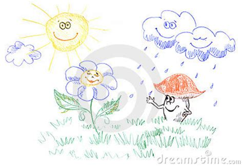 Step Weather A Day drawing of weather stock images image 12784934