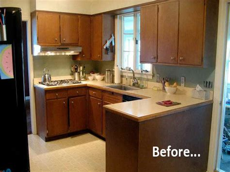 superb Before And After Photos Of Painted Kitchen Cabinets #1: Before-And-After-Painted-Kitchen-Cabinets-with-Previous.jpg