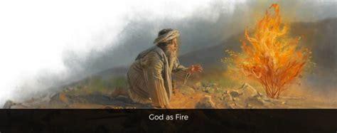 theology thursdays god  fire  opened box