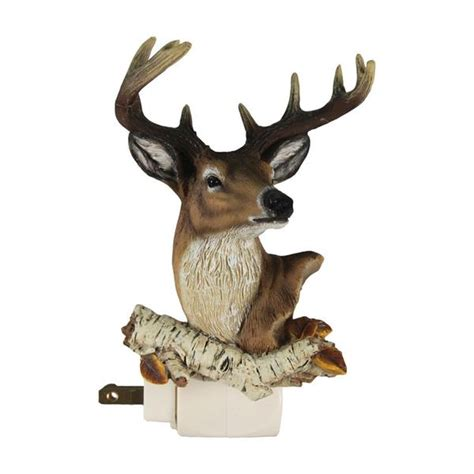 whitetail deer home decor whitetail deer night light 1273 buffalo trader online